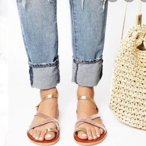Free People Isle or Capri Leather Sandals